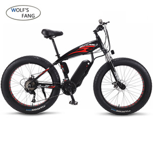 Image 2 - Electric Bike Aluminum alloy 21speed Fat Electric Bicycle 48V 500w 13AH USB 26x4.0 EBike Lithium Battery Electric Mountain Bikes