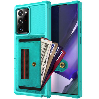 for Samsung Galaxy Note 20 Ultra/Note 20 5G Wallet Flip Case, Protective PU Case with Kickstand Card Holder Wrist Cover Fundas