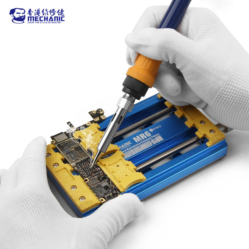 MECHANIC Fixture For Motherboard Double Universal Holder MR6 PCB Clamp Bearings Chip Precision Remove IC PRO Integrated Glue