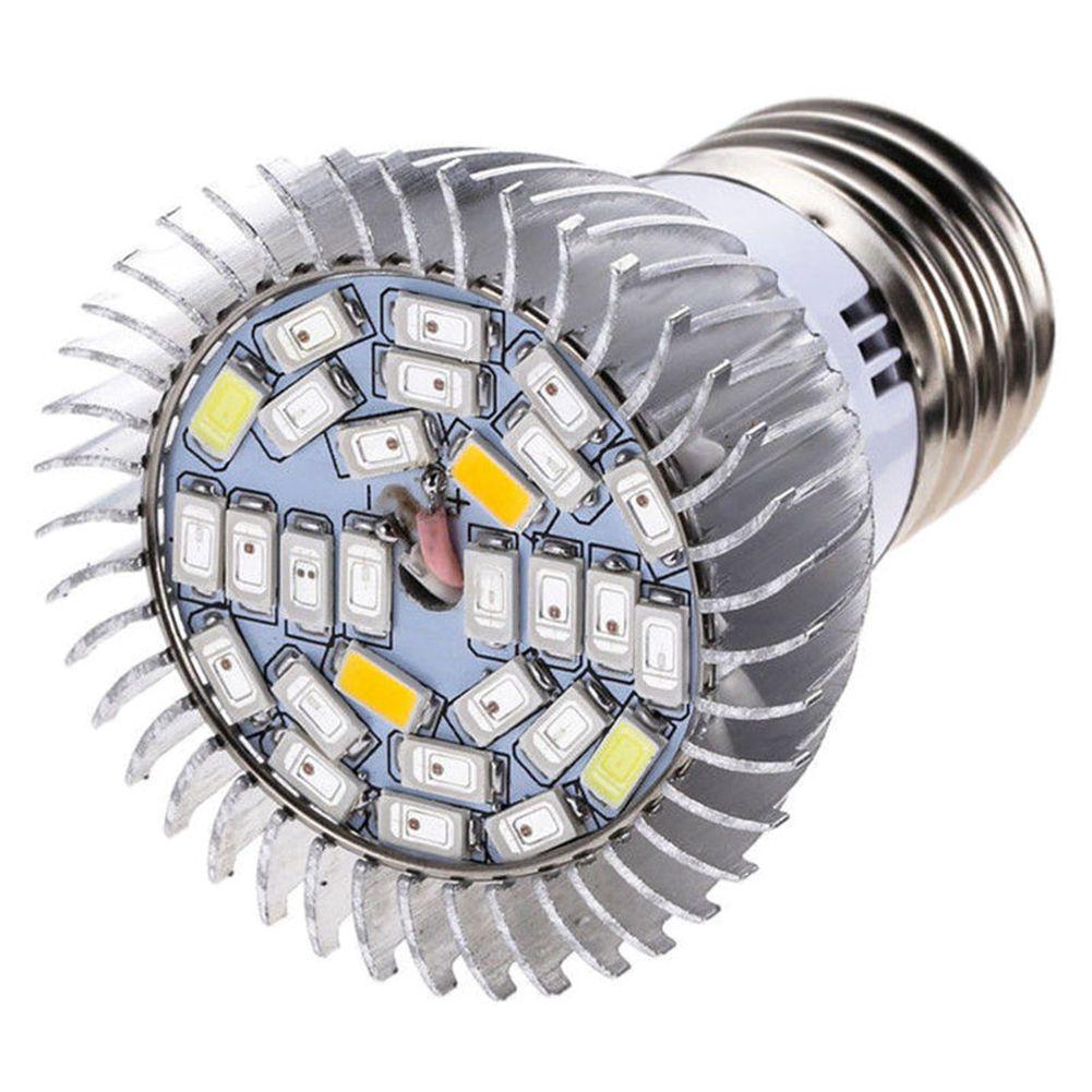 28W Full Spectrum E27 Led Grow Light Growing Lamp Light Bulb For Flower Plant
