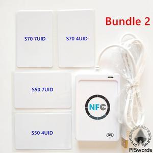 Image 2 - NFC ACR122U RFID smartcard ACR 122U Smart Kartenleser Schriftsteller mit UID beschreibbare klon software S50 Access Control Karte ISO 14443