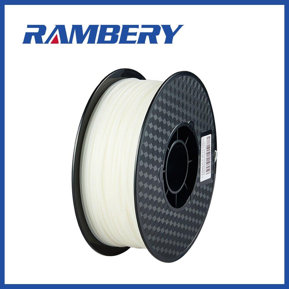 Printer PLA Filament 1.75mm ABS PLA 1.75 Filament Natural Colors  Dimensional Accuracy +/  0.05 mm  1kg (2.2LBS) / Spool 3D Printing Materials     - title=