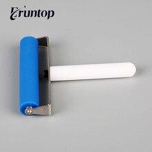 Eruntop Rodillo de silicona Universal de 10cm herramientas de reparación de teléfonos móviles, película de pantalla para portátil, pegado LCD OCA, 1 Uds.