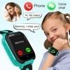 Children's smart watch mobile phone GPS tracker boy girl sports watch SOS positioning camera flashlight smart watch outdoor