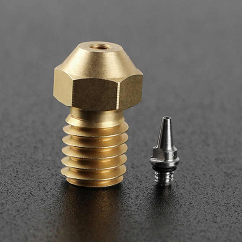 3 stücke Airbrush Düsen mit Adapter-Set 0,2/0,3/0,5mm 3D Drucker Zubehör UY8