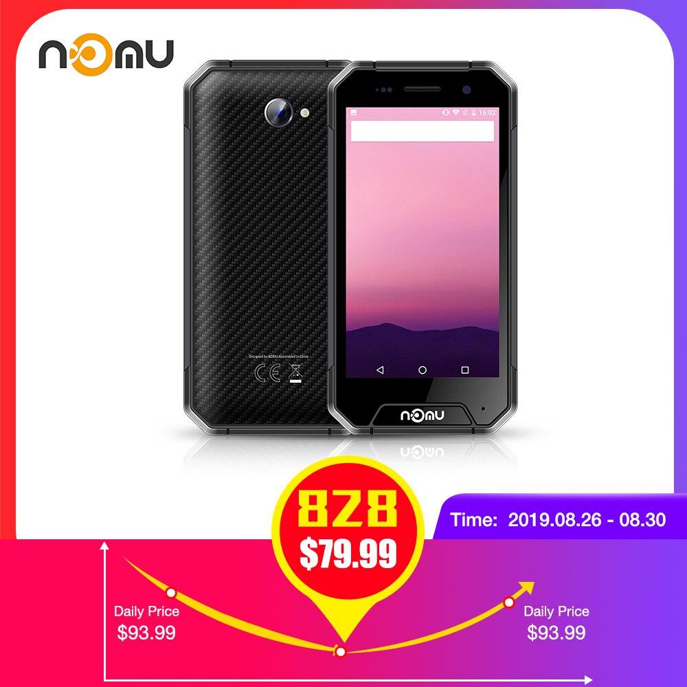 NOMU S30 Mini 4G Smartphone 4.7 pouces Android 7.0 MTK6737VWT Quad Core 1.5GHz 3GB RAM 32GB ROM 8.0MP caméra arrière 3000mAh batterie