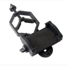 Universal Cell Phone Adjustable Adapter Mount Microscope Spotting Scope Telescope Clip Bracket Mobile Holder drop shipping