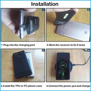 Image 5 - Cargador inalámbrico para Oneplus 8, 5, 5T, 6, 6T, 7, 7T Pro, Qi, adaptador receptor USB tipo C, funda de TPU de regalo