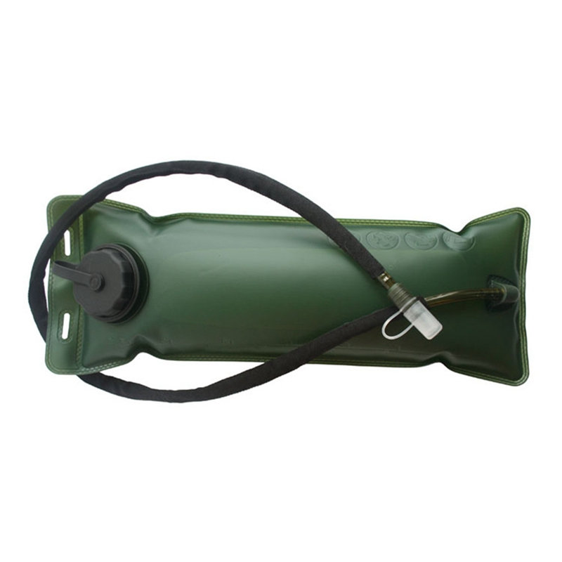 Outdoor 3L Large Water Bag Survival Hiking Climbing TPU Foldable Water Bladder Cycling Backpack Drink Pouch Camping Equipment