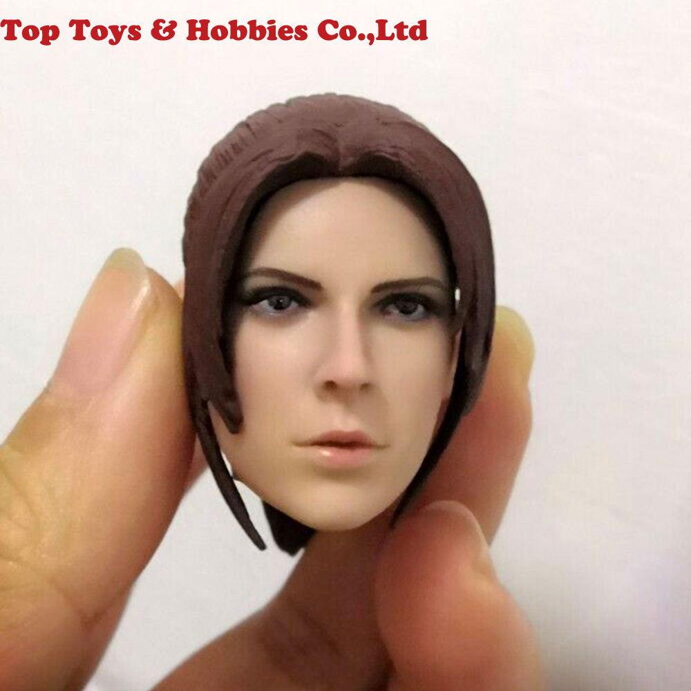 1/6 Claire Redfield Head Sculpt Europe And America Female Head Carved Fit 12'' Figure Body PH Toy