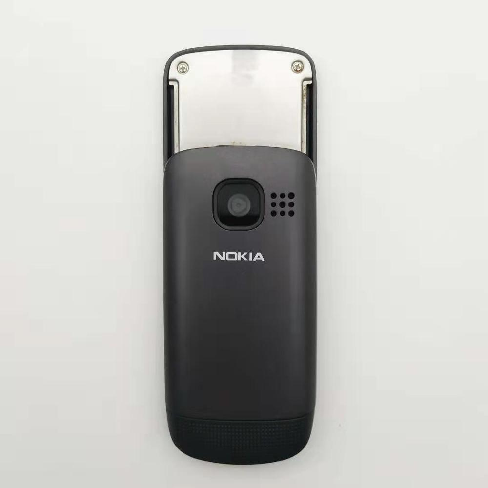 100% Original Unlocked Nokia C2-05  slide cell phone  Bluetooth FM Radion phone Free shipping