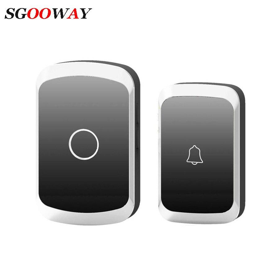 36 Chime Intelligent Wireless Doorbell Home Welcome Doorbell Waterproof 300m Remote Smart Door Bell Chime EU UK US Plug Optional