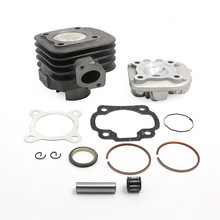 Big Bore Cylinder Rebuild Kit 47mm 70cc For Scooters With Jog Minarelli Motors For Yamaha Jog Zuma Vino 2 Stroke 50cc Scooter