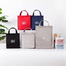 Boway липучка Оксфорд ткань Bento коробка сумка для переноски свежий изолированный Портативный Большой размер еда сумка для переноски ланча