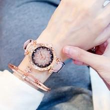 New Women Watches Bracelet Starry Sky Ladies Bracelet Watch Casual Leather Quartz Wristwatch Clock Relogio Feminino elegant quartz women s watches luxury leather ladies watch fashion wristwatch women bracelet watches clock relogio feminino