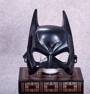 The Dark Knight Batman Helmet Mask Masque Cosplay Prop Mask Headwear Halloween Birthday Mask Dance Party Accessories Funny Party