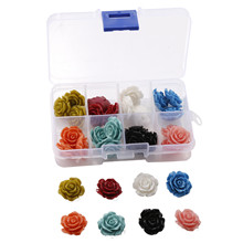 32pcs/set  20MM Flower Beads Loose Jewelry Accessories DIY Making