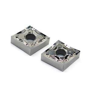 Image 1 - CNMG120402 ヘクタール H01 CNMG120404 cnmg 120408 100% オリジナルインサートアルミ合金インサート cnc 超硬インサート旋盤加工ツール