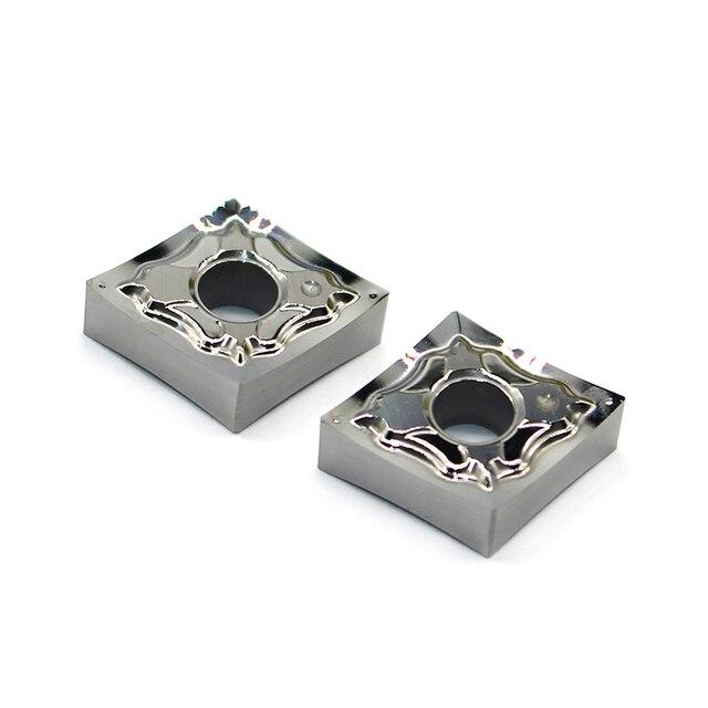 CNMG120402 ヘクタール H01 CNMG120404 cnmg 120408 100% オリジナルインサートアルミ合金インサート cnc 超硬インサート旋盤加工ツール