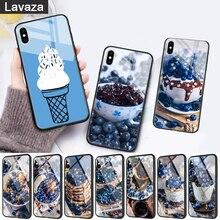 WEBBEDEPP Blueberry Exquisite Glass Phone Case for Apple iPhone 11 Pro X XS Max 6 6S 7 8 Plus 5 5S SE