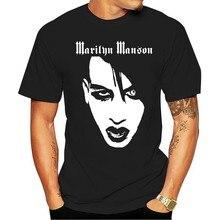 Camiseta nova marilyn manson rosto tamanho s m l xl 2xl 3xl t eua tamanho em31 2021
