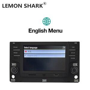 """Image 4 - Limon köpekbalığı MQB 6.5 """"MIB araba radyo Mirrorlink OPS ters kamera için VW Passat B8 Golf 7 radyo MK7 yedi 5GG 035 280B"""