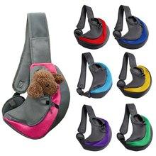 Travel Tote Handbag-Pouch Sling Pet-Puppy-Carrier Shoulder-Bag Outdoor Comfort Mesh Oxford