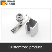 Customized products,Folding doo  pulley Slide track ,Slide rail, Profile Guide 26 m  Roller 8 PCs.for 30kg door