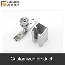 Индивидуальные продукты, складной ролик doo, направляющая, направляющая профиля 26 м ролик 8 шт. для двери 30 кг