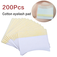 200Pcs Disposable Extension Cotton Under Eye Pads Paper Patches Sticker Wraps for Grafting Eyelash Beauty Make up Tools