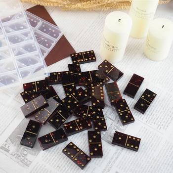 Moldes de silicona de resina hechos a mano, accesorios de joyería, fabricación de resina epoxi, artesanía, cabujones, tablero, abalorios, resina DIY