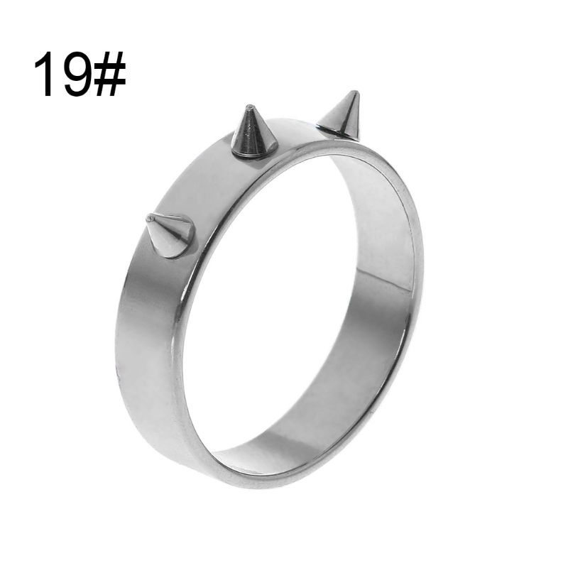 Self-Defense Ring Portable Finger Weapons Survival Outdoor Emergency Glass Breaking Punk Rings Protector R9UA