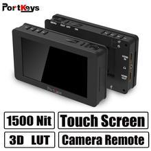 Portkeys LH5 HDR 1500nit сенсорный экран монитор 5 дюймов камера монитор 4K HLG, 3D LUT, сенсорный пульт дистанционного управления камерой