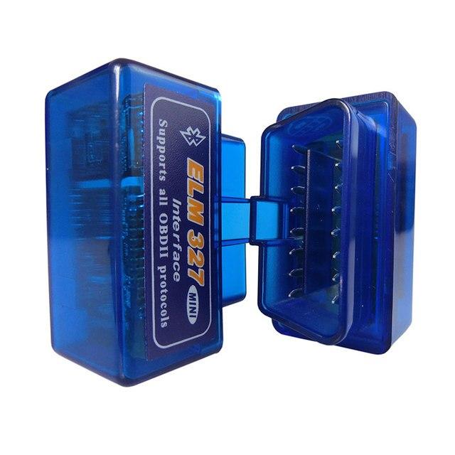Super Mini Elm327 Bluetooth OBD2 V1.5 Elm 327 V 1.5 OBD 2 Auto Diagnostic Scanner For Car Elm-327 OBDII Code Diagnostic-Tools 3