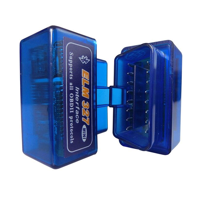 Супер Мини Elm327 Bluetooth OBD2 V1.5 Elm 327 V 1,5 OBD 2 Автомобильный диагностический инструмент сканер Elm-327 OBDII адаптер Авто диагностический инструмент