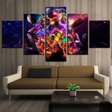 Canvas Wall Art Modular Pictures Home Decor 5 Pieces Avengers Endgame Movie/Iron Man Paintings Living Room HD Printed Posters decor home hd printed canvas wall art modular pictures 5 pieces harry potter school castle paintings living room movie posters