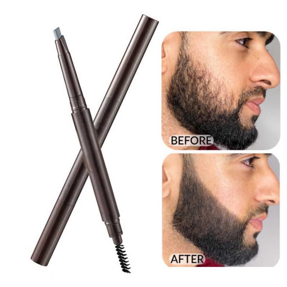 Beard Pen Multipurpose Natural Growth Plastic Mustache Repair Shape Regrowth Pen for Men