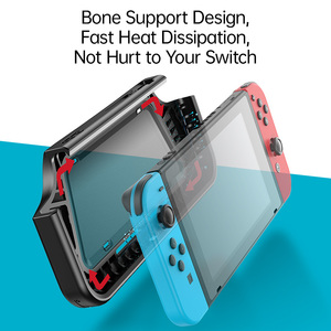 Image 3 - Baseus Gamepad Holder Case For Nintendo Switch Joypad Stand Holder Cover For Nintendos Switch Left Right Game Controller Coque