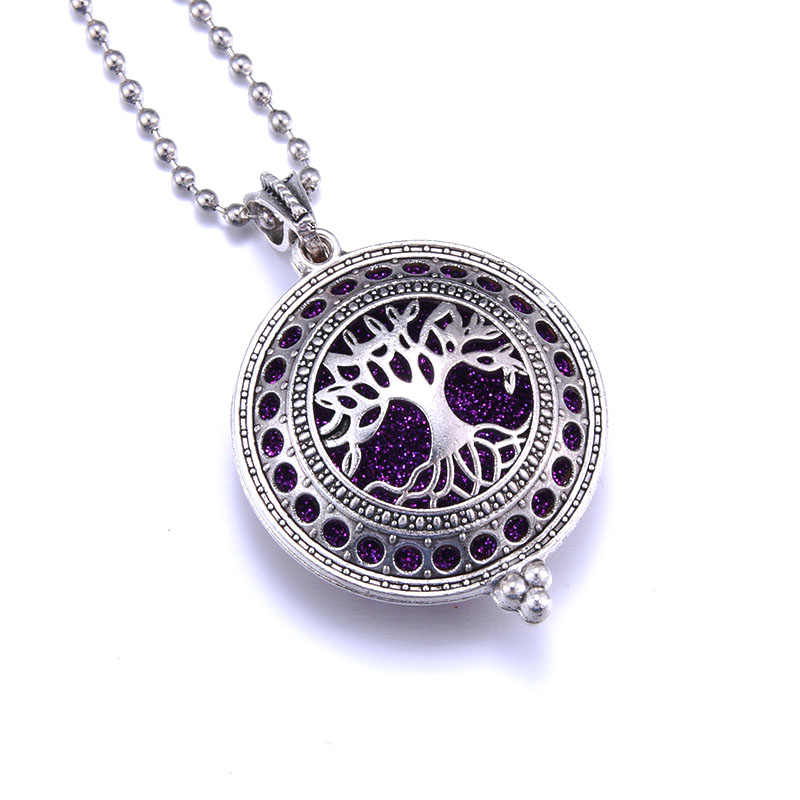 Aroma Essential Oil Diffuser Pendant Necklace Jewelry Necklaces Women Jewelry