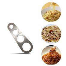 Нержавеющая сталь Измеритель для спагетти инструмент паста часть управления гаджеты 4 части