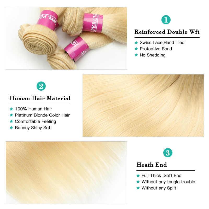 Monstar 1/3/4 613 blond pasma prostych włosów włosy peruwiański Remy ludzki włos do przedłużania włosów miód blondynka wiązki 8- 40 cal darmowa wysyłka