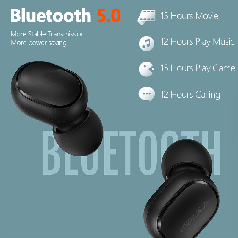 Original Xiaomi Airdots S Tws Redmi Airdots Pro 2 Earbuds Wireless Earphone Bluetooth 5.0 Gaming Headset With Mic Voice Control 2