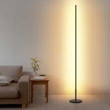 Современный светодиодный напольный светильник с затемнением для гостиной, столовой, прикроватной тумбочкой, спальни, металлическое освещение, домашний декор, светодиодный напольный светильник, стоящая лампа