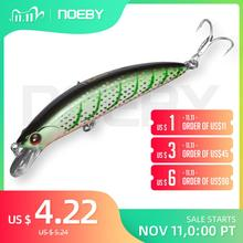 NOEBY Fishing Sinking Minnow ABS Lure 90mm/29g Bass Pike Walleye Trout Plastic Wobbler Hard Baits Swimbaits Artificial Lure Sea