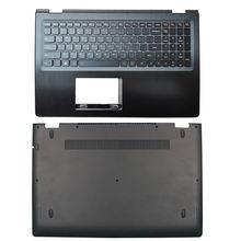 Новая задняя крышка для ноутбука/передняя панель/Упор рук/Нижняя