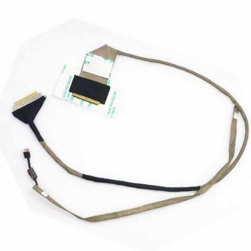 DC020010L10 için LCD ekran Video Flex kablo ACER Aspire 5251 5551 5551G serİsİ LED Flex kablo para