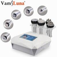 5 В1 RF вакуумная ультразвуковая машина для похудения переносная липосакция удаление жира уход за лицом