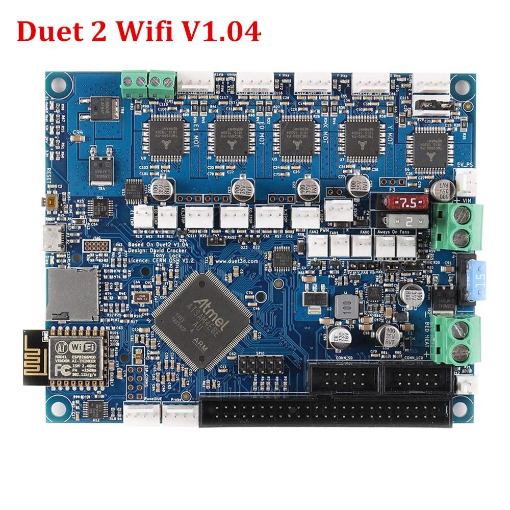 Duet 2 Wifi V1.04 Borad cloné Duet2 Wifi carte de contrôle 32 bits avancée pour BLV MGN Cube 3D imprimante pièces de Machine à CNC