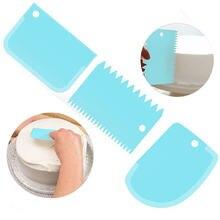 3pcs Торт скребок формы для выпечки инструменты вырезания края