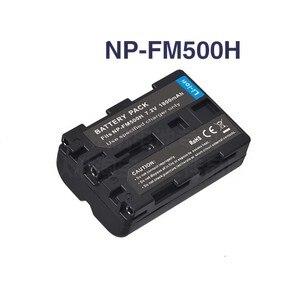 NP-FM500H NP FM500H Аккумулятор для камеры Sony A57 A58 A65 A77 A99 A550 A560 A580 NP-FM500H